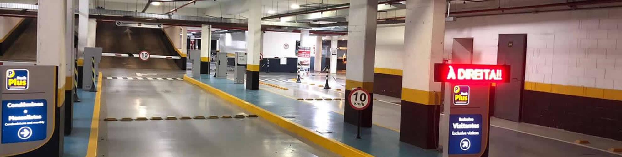 Vagas de Garagens de Edifícios Comerciais